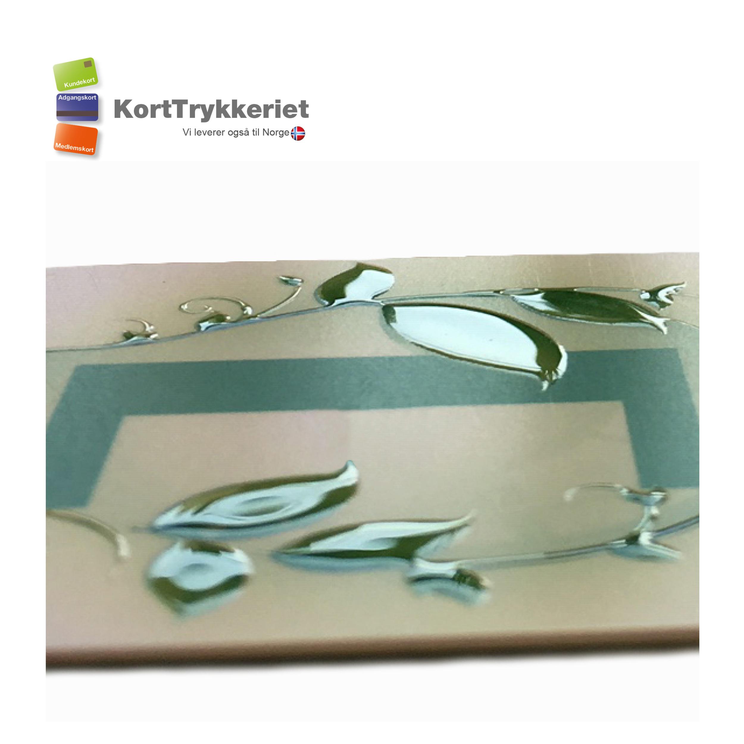 Plastkort med partiel lak_Korttrykkeriet.dk
